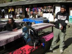 Sudip at Annapurna base camp