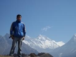 Kim Rana at Everest Base Camp