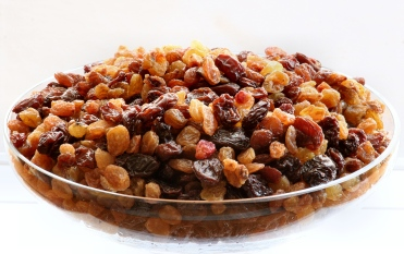 Raisins can be a quick energy snack during trekking