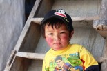 A young kid seen at Muktinath of Jomsom region