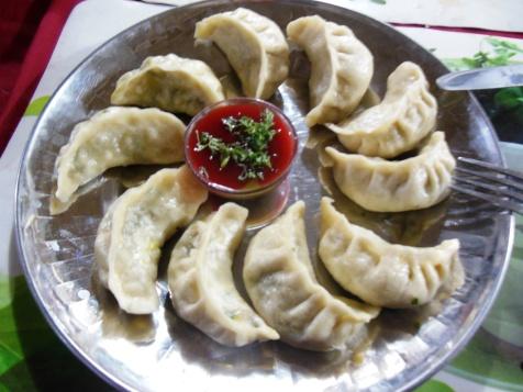 Nepalese dumpling or Momos