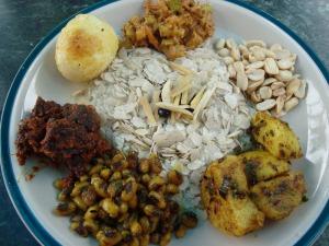 Ethnic Newari cuisine