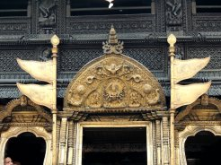 Newari styled Golden gate
