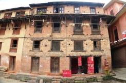 Typical Newari styled residence