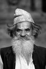 An old man seen at western Nepal