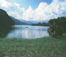 Fewa lake boating
