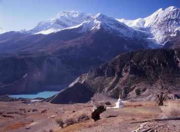 Gangapurna Glacier-Mt.Gangagapurna 7454m