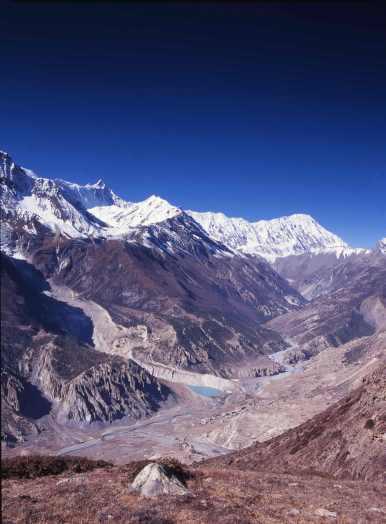Gungappurna 7454m and Annapurna IV 7525m