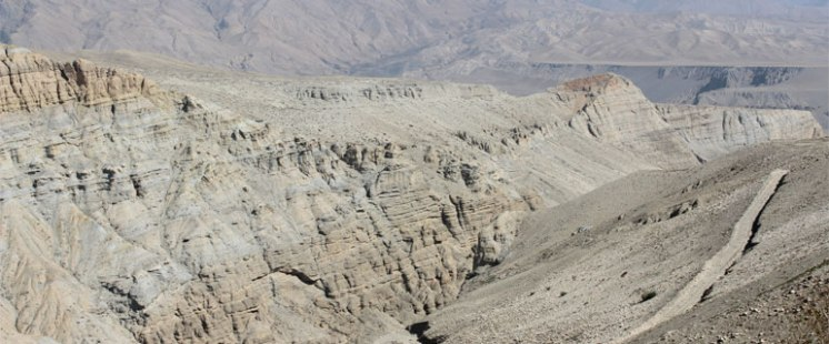Landscape in upper mustang