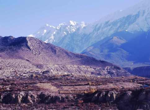 Nilgiri range from Jomsom