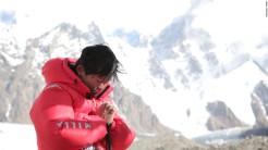 Kuriki en route to Everest