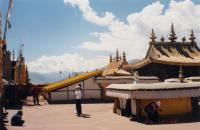 Roof of the Potala Palace