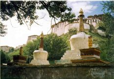 Side view of the Potala Palace