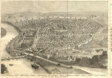 Delhi before the siege, dated 1858