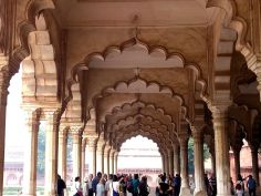 Diwan I Am, a section inside the Agra Fort