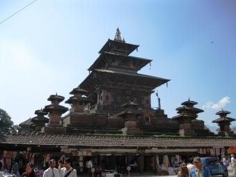 Malla Temple at Hanumandhoka