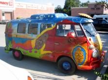 1967 VW Kombi hippie bus