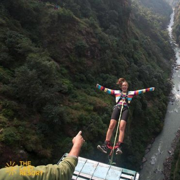 Bungee in nepal