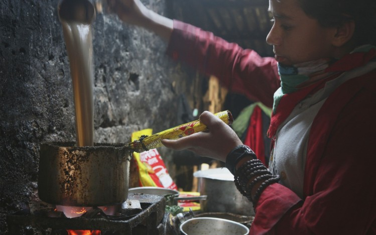 Nepali tea chiya