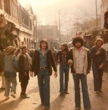 Hippies seen in Kabul, Afghanistan during 70s