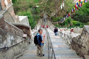 365 stairways leading to the main shrine