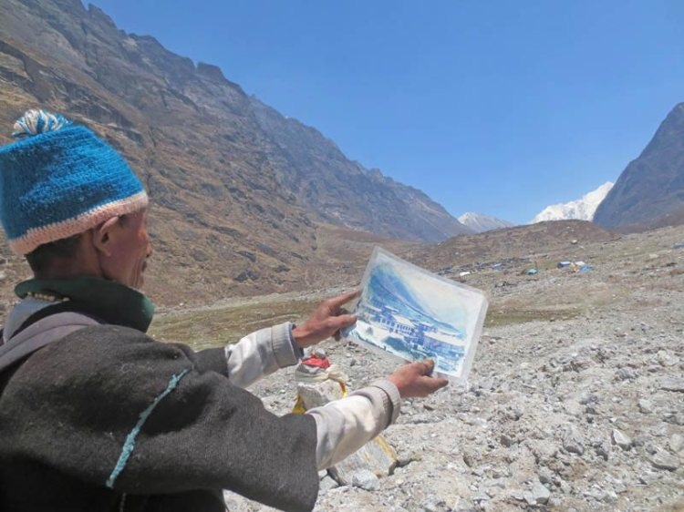 one year after nepal earthquake langtang valley