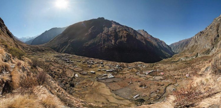 Langtang before april earthquake