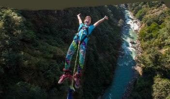 adventure in nepal bungy jump