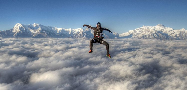 adventure sports in nepal everest skydive