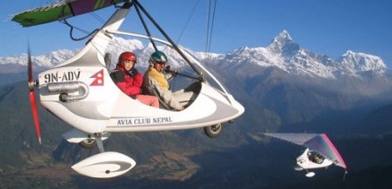 ultra flight adventure in nepal