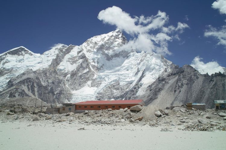 Gorak shep everest base camp