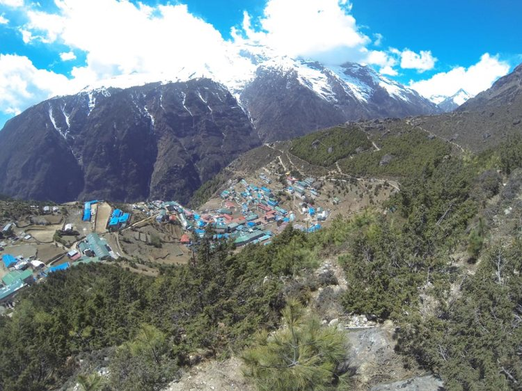 namche bazar everest base camp