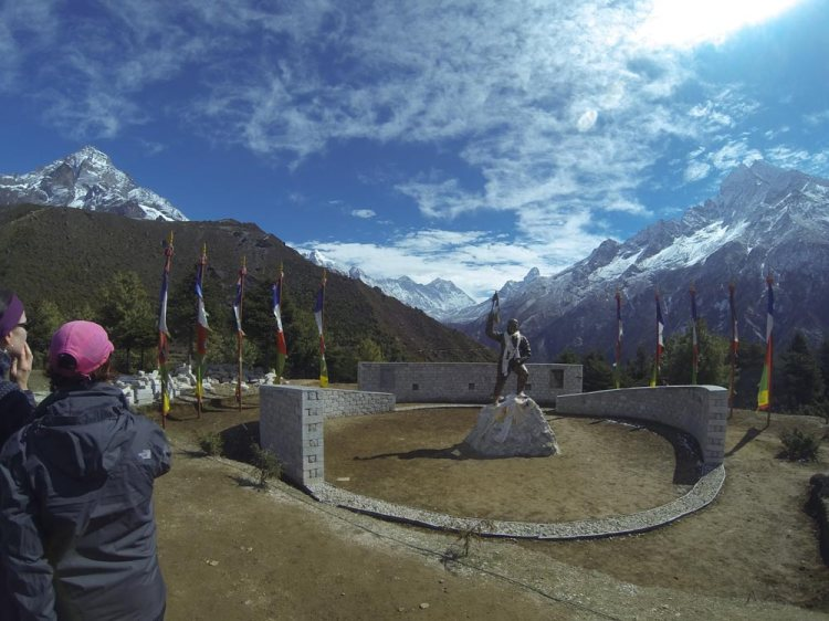 tenzing norgay memorial everest base camp