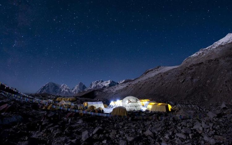 south everest base camp nepal