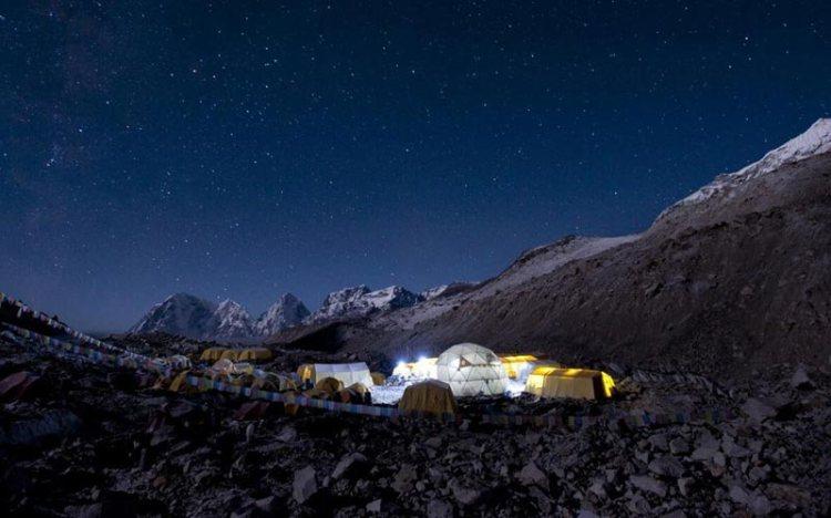 south everest base camp nepal