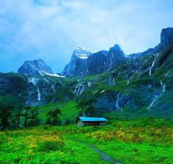 Landscape in Makalu Barun National Park