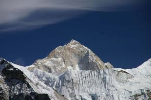 Makalu from the southwest